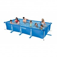 Intex Metal Frame Pool 450 x 220 x 84 cm Rectangle