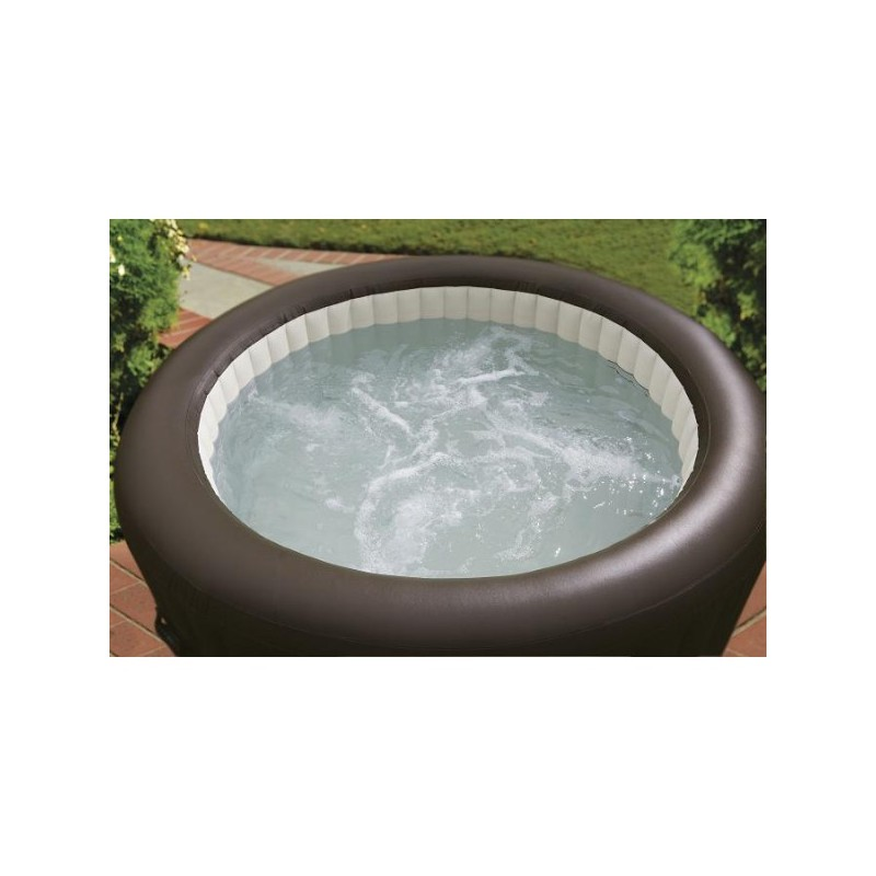 intex pure spa whirlpool 191 cm met jet massage 4 persoons opblaasbare bubblebad. Black Bedroom Furniture Sets. Home Design Ideas