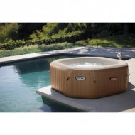 Intex PureSpa Bubble Therapy Octagon / Hard Water Systeem